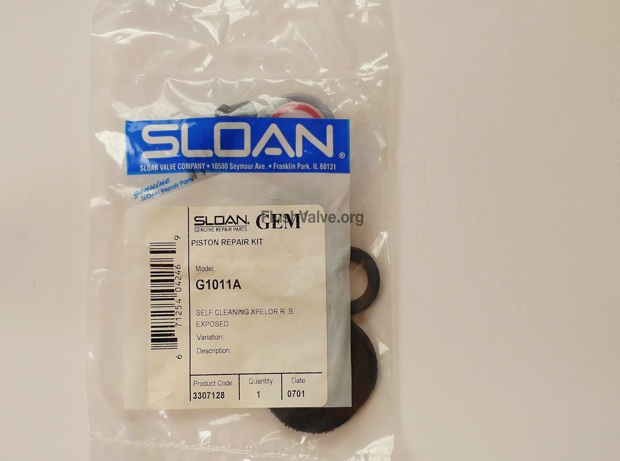 Sloan Rubber Gasket Replace Seat for Flushometer