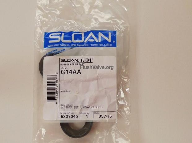 Sloan Rubber Gasket G14AA